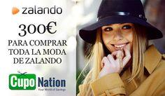 Gana 300€ para comprar en Zalando #SorteosActivos #Sorteamus Sorteo por #CupoNation