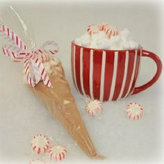 Cocoa cones are a great gift for friends, teachers, or as a stocking stuffer!