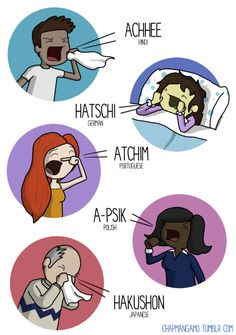 How To Sneeze In 10 Languages - Tackk