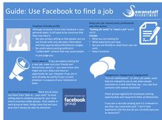 #Infographic guide for #jobseeking on #Facebook. #jobhunt #jobs #job #career #socialmedia #socialrecruiting #recruiting #recruitment #recruiter #careertips