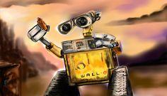 Wall-E Wall E, Star Wars Fan Art, Stars, Sterne