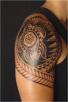 Hawaiian Tattoo Designs Ideas To Look Traditionally Stylish for Hawaiian Tribal Tattoo - Fashion Style Ideas Tribal Turtle Tattoos, Turtle Tattoo Designs, Polynesian Tattoo Designs, Tribal Tattoos For Men, Maori Tattoo Designs, Tattoo Designs And Meanings, Trendy Tattoos, Tattoos For Guys, Tattoos For Women