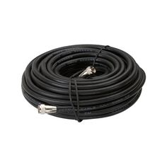 Zenith 50-ft 18-AWG RG6 Black Coax Cable