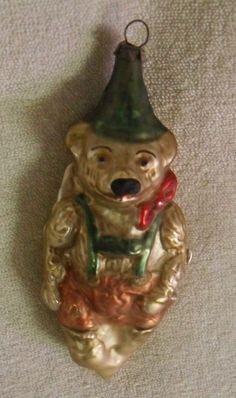 Bear with Green Hat