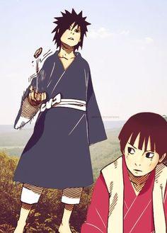 Hashirama & Madara. #naruto