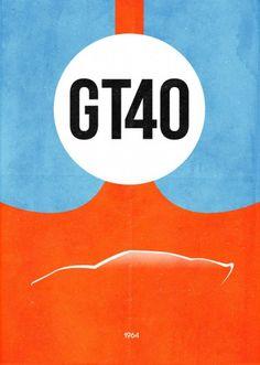 GT40 - by Dean Walton