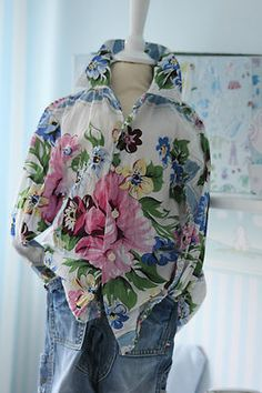 Ra-Re RARE Hemd flower Blumenprint Rückenprint - Verkäufer: gelbkessiemaus