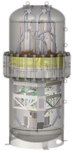 Illustration of 25kW SolarHeart Stirling Engine
