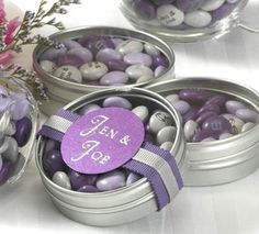 Trendy wedding favors for guests purple bridal shower Wedding Favors And Gifts, Purple Wedding Favors, Bridal Shower Favors Diy, Elegant Wedding Favors, Wedding Candy, Wedding Rustic, Personalized Candy, Personalized Wedding Favors, Customized Candy