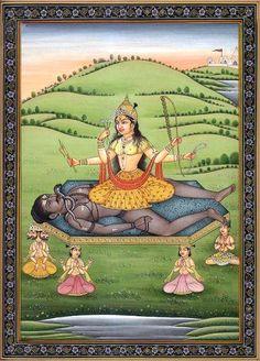 Dasha (ten) Mahavidya- Part Two- Kali, Tara and Tripura Sundari (2 of 4)   Sulekha Creative