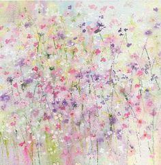 Sue Fenlon - Polka dot flowers