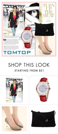 """TOMTOP+ 10"" by damira-dlxv ❤ liked on Polyvore featuring Chanel, tomtop and tomtopstyle"