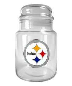 Look what I found on #zulily! Pittsburgh Steelers Candy Jar by Great American Products #zulilyfinds