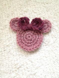 Crochet a Cute Minnie Mouse Applique