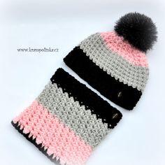 Nákrčník véčkový Tulip Big – Krampolínka Free Crochet, Crochet Hats, Tulips, Crochet Patterns, Winter Hats, Fashion, Caps Hats, Knitting Hats, Moda