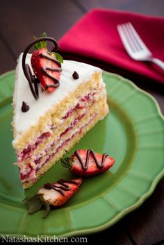 Strawberry Layer Cake Recipe