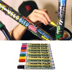 customize your bike with paint markers   20 DIY Ways To Pimp Your Bike