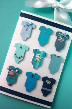 Onnittelukortti vauvalle - bodyt (LovedOne)