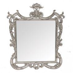 Chateau Silver Leaf Mirror