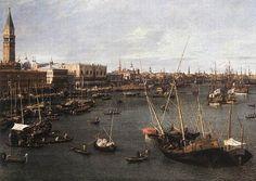 Veduta del Bacino di San Marco, dipinto, 1738, olio su tela, Museum of Fine Arts, Boston.