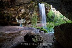 Cascade et grotte du Baumicou Destination Voyage, France Travel, Study Abroad, Trip Planning, Places To See, Road Trip, Scenery, Earth, Landscape