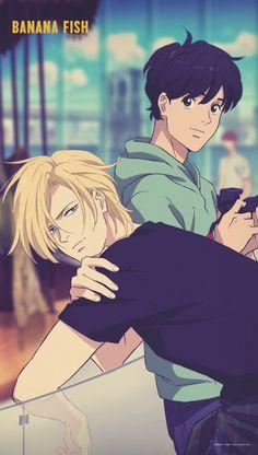 Cute Anime Pics, Anime Love, Anime Guys, Manga Anime, Anime Art, Fish Wallpaper, Anime Scenery, Fish Art, Anime Shows