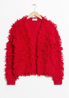 & Other Stories | Shaggy Wool-Blend Knit