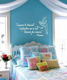S Room Decor Pinterest Princess Tinkerbell And