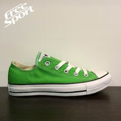 Converse All Star Verde Chiaro Bassa http://freesportstyle.com/converse/330-converse-chuck-taylor-all-star-verde-chiaro-bassa-142374c.html