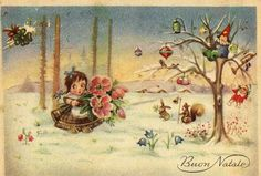 Miss Jane: Christmas Cards 1956