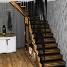 Staircase Deco – Leosims.com