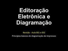Editoração Eletrônica e Diagramação Revisão - Aula 001 e 002 Princípios básicos de diagramação de impressos.