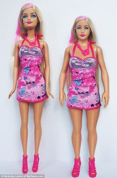 the REAL Barbie...this would make so many little girls feel better about themselves