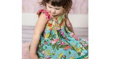 Etsy find of the day - floral knot dress