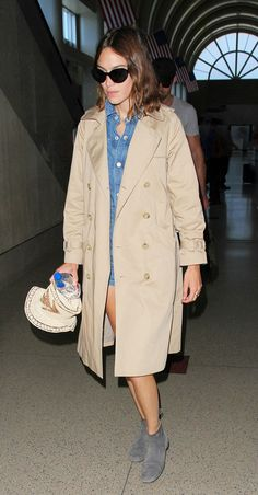 What Alexa Chung Wears to the Airport With Her Boyfriend