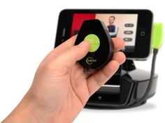 Swivel for hands free control of shooting video. Great for taping demos, science experiments and tutorials.