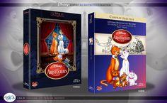 Concept de collection Blu Ray prestige Disney avec fourreau et Digibook : Les Aristochats ( The Aristocats ) Disney Blu Ray, Walt Disney, Animation Disney, The Prestige, Film, Cover, Books, Art, The Aristocats