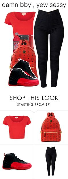 """""""4-7-2017 9:50 PM EST"""" by kaydabae4life ❤ liked on Polyvore featuring MCM"""