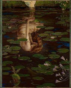 Imagem: Psyche Weeping, by Kinuko Y. Craft Illustration from Cupid and Psyche Fantasy Kunst, Fantasy Art, Writing Fantasy, Renaissance Kunst, Arte Obscura, Pre Raphaelite, Classical Art, Fine Art, Pretty Art