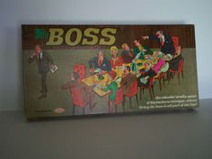 """The Boss"" board game."