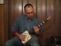 CD 4 How do you play cigar box guitar Lesson 1 / Introduction / Bottleneck Slide Blues Guitar Ukulele Instrument, Video Cd, Guitar Youtube, Cigar Box Guitar, Guitar Lessons, Cigars, Blues, Play, Music