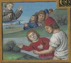 Vie et miracles de saint François d'Assise Bonaventura (saint ; 1221?-1274). Auteur du texte Date d'édition : XVe siècle, vers 1480