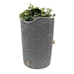 Good Ideas Impressions Bark Rain Saver Light Granite