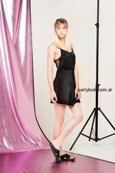 Vestidos negros cortos de noche verano 2015