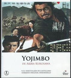 YOJIMBO. El samurái errante Sanjuro llega a su pueblo del Japón rural del siglo XIX, dividido por dos familias rivales. Pobre y hambriento, decide servir como mercenario en uno de los bandos, y posteriormente decide trabajar con el contrario. Descubierta su traición, Sanjuro es encarcelado, aunque logra escapar durante una sangrienta matanza. Tras un tiempo de meditación lejos del pueblo arrasado, Sanjuro volverá para enfrentarse al instigador de la terrible masacre.