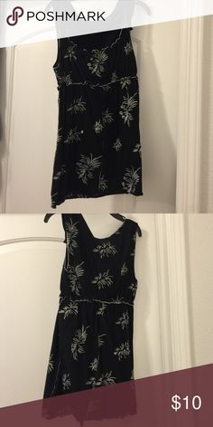 27a80f73720 BCBG top Black with white embroidered accents tank top. Would be super cute  with white shorts and black sandals BCBGMaxAzria Tops Tank Tops