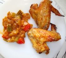 Bengali Fried Chicken Wings www.simple-easy-d. Fried Chicken Wings, Easy Dinner Recipes, Macaroni And Cheese, Crockpot, Fries, Favorite Recipes, Meat, International Recipes, Simple