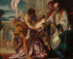 The Athenaeum - The Martyrdom and Last Communion of Saint Lucy (Paolo Veronese - )