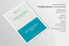 Portfolio Book by Imagearea on Creative Market