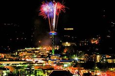 New Year's Eve from the Gatlinburg Space Needle
